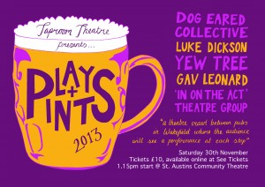 PlaysandPints 2poster 2013web